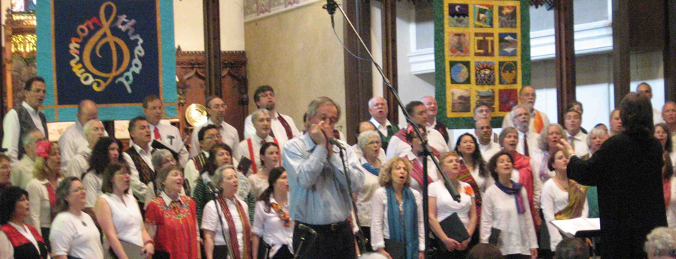 Dave Joyce with Common Thread Chorus